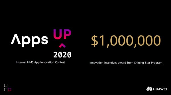Awards USD$1 Million Prize, HUAWEI HMS App Innovation Contest Goes Global