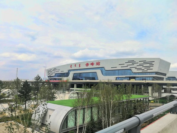 Hitachi Elevator provides escalators and elevators to Kazuo-Chifeng High-speed Railway's Chifeng West Railway Station