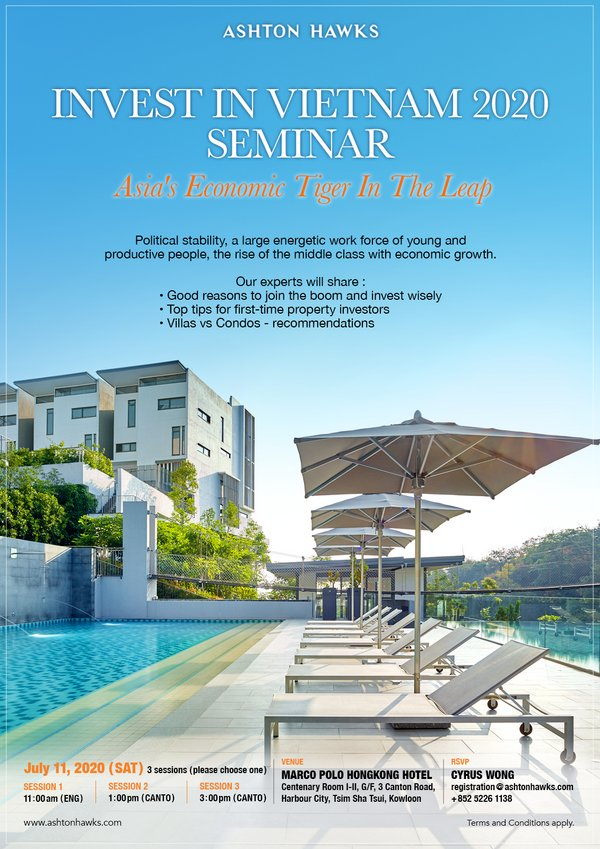 Ashton Hawks' Seminar: Vietnam Property Investment 101