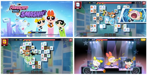 SundayToz begins pre-registration for 'The Powerpuff Girls Smash,' a new Match-2 Puzzle Game in Asia