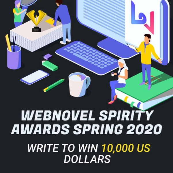 Webnovel Launches Webnovel Spirity Awards Spring 2020 to Nurture More Talented Authors