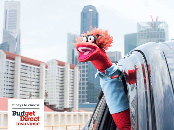 Budget Direct's mascot, Budsy, is a hit among Singaporeans according to recent brand study.