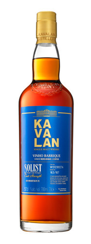 'Best of the Best' Kavalan Solist Vinho Barrique is the answer to Japanese judges' mission to find the world's best single malt