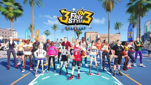 '3on3 FreeStyle: Rebound' Launching on Steam on July 15