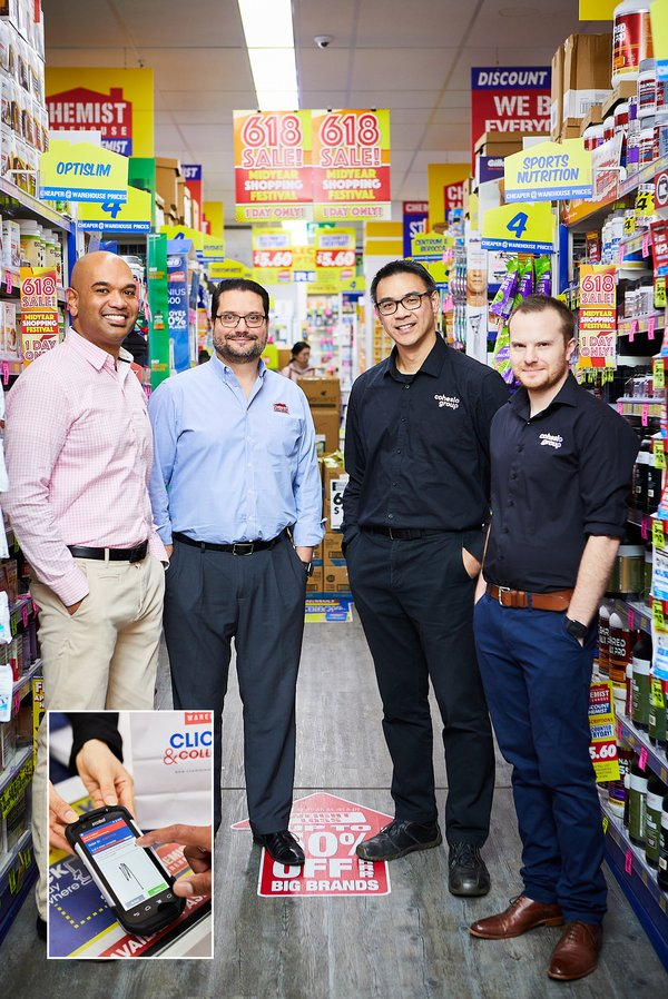 Chemist Warehouse teams up with Cohesio Group (Körber) for same-day delivery solution