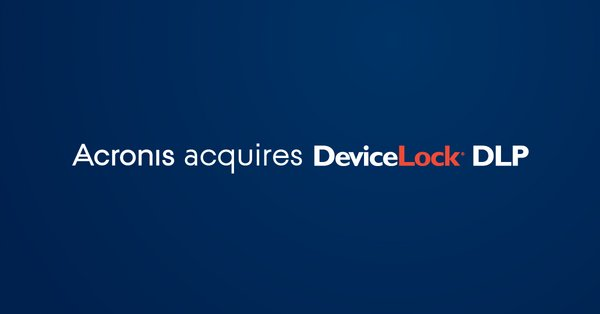 Acronis now owns 100% on DeviceLock