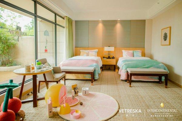 未卡VETRESKA携手黑龙滩长岛天堂洲际酒店打造特色宠物主题房