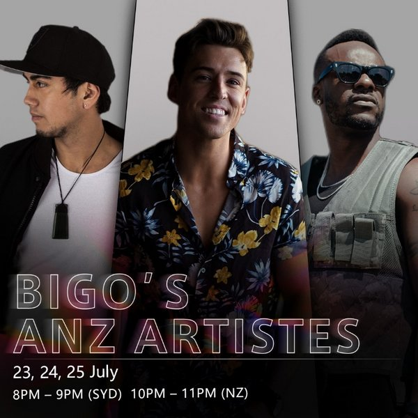 Beau Monga, Taylor Henderson and Timomatic to perform LIVE on second edition of BIGO ANZ Artistes