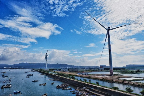 "China's first 8MW offshore wind turbine featuring ""black start†technology"