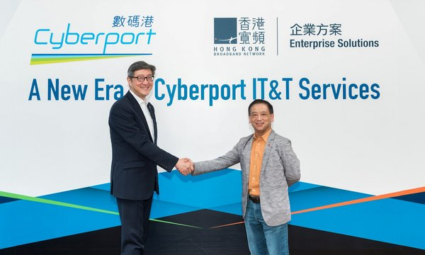 HKBN Enterprise Solutions Appointed by Cyberport to Reinforce its Digital Technology Ecosystem Through IT & T Infrastructure and Service Support Enhancements