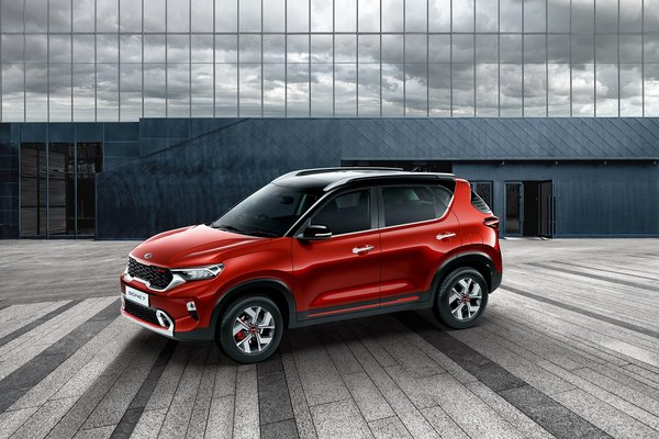 Kia Motors unveils the Sonet - an all-new smart urban compact SUV, made in India for the world
