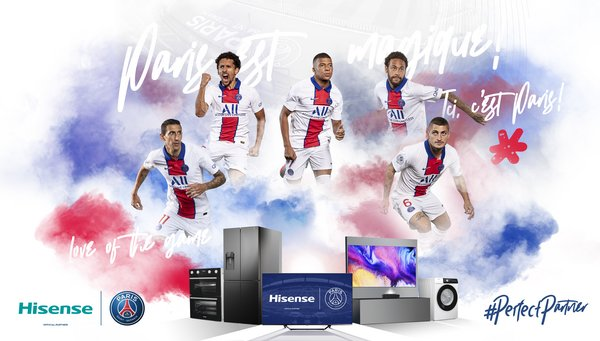 Hisense and Paris Saint-Germain announce global partnership