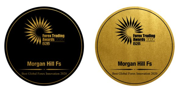 "Morgan Hill Fs Receives ""Best Global Forex Innovation 2020"" Award from Forex Trading Awards"