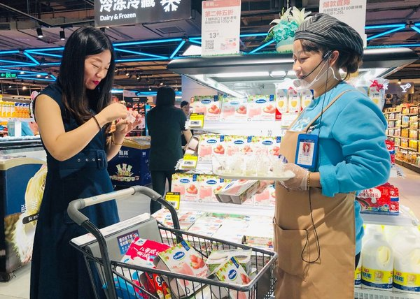 Vinamilk's products have been well received by customers in China.