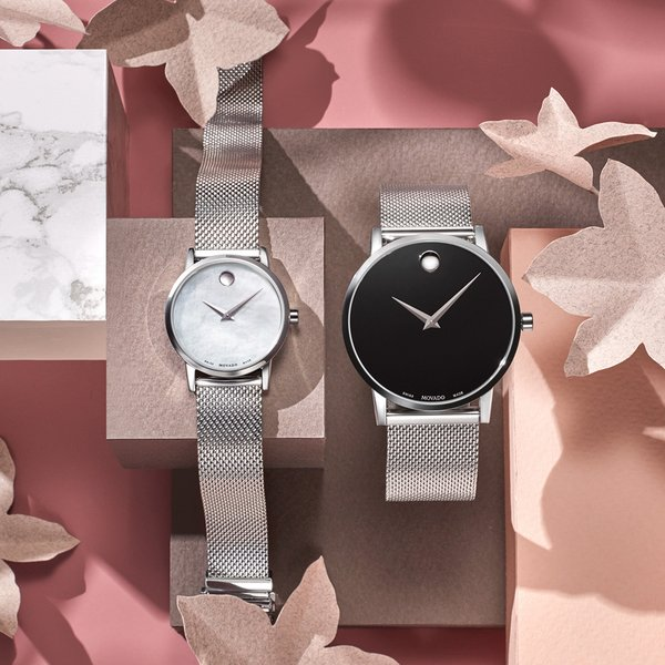 MOVADO Museum Classic on Mesh