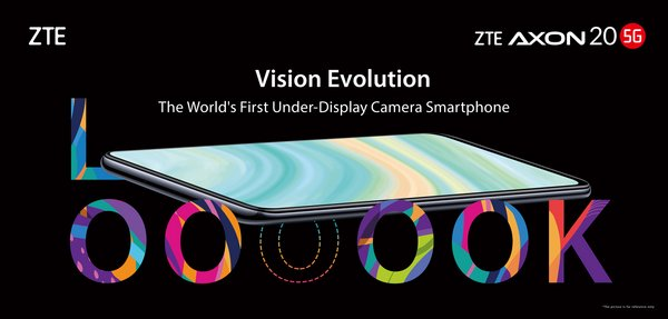 ZTE unveils world's first under-display camera smartphone Axon 20 5G
