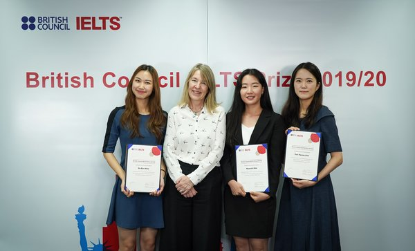 British Council in Korea IELTS Prize Helps Students to Make Their Mark Through International Study