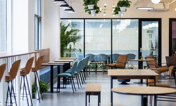 inDeco打造乐信圣文总部办公空间 再掀效率与创意新高潮