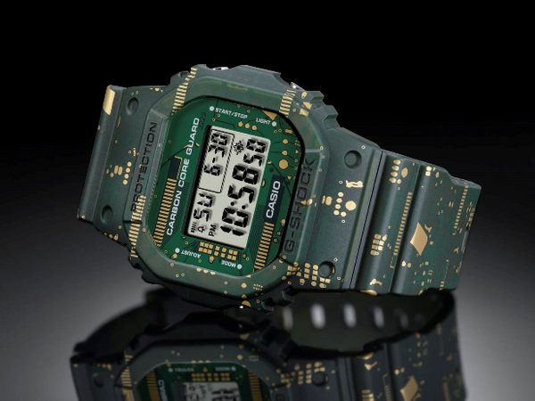 Casio to Release G-SHOCK with Interchangeable Bezels and Bands
