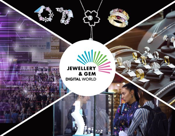 Jewellery & Gem Digital World 十月首度亮相