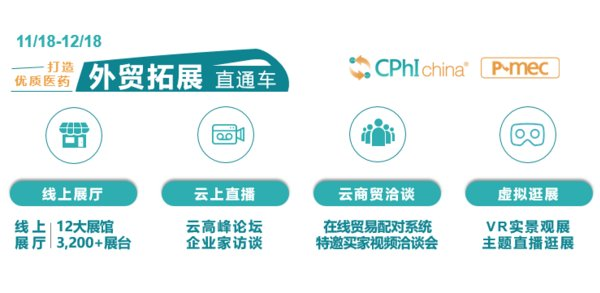 CPhI & P-MEC China Virtual Expo Connect线上展2.0版