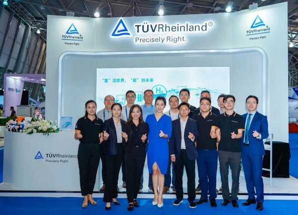 TUV Rheinland presents its comprehensive technology solutions at Hydrogen Fuel Cell Vehicle Congress (FCVC)