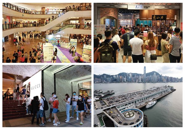 Harbour City (Hong Kong's largest mall) joined forces with 300 tenants to effectively stimulate footfall and repeat purchase during pandemic