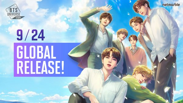 Netmarble's BTS Universe Story Now Available Worldwide on iOS and Android Devices